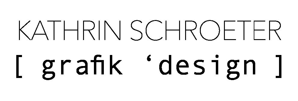Logo_Kathrin Schroeter_Logo 2Z schwarz